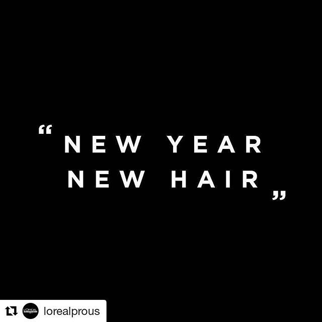 happy new year what s your hair resolution lorealprous