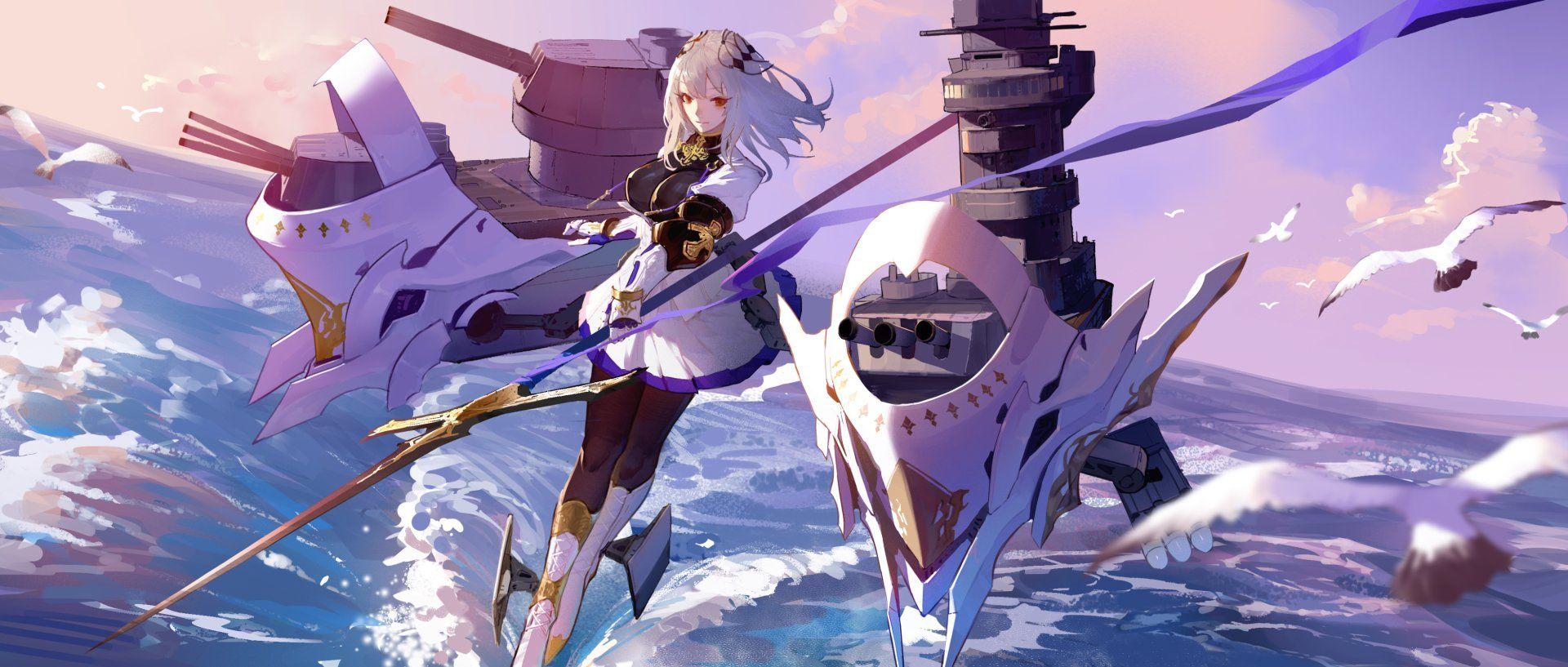Anime Azur Lane SaintLouis (Azur Lane) Wallpaper