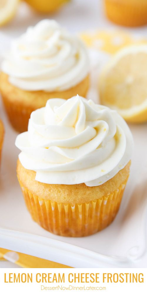 Lemon Cream Cheese Frosting #lemoncreamcheesefrosting