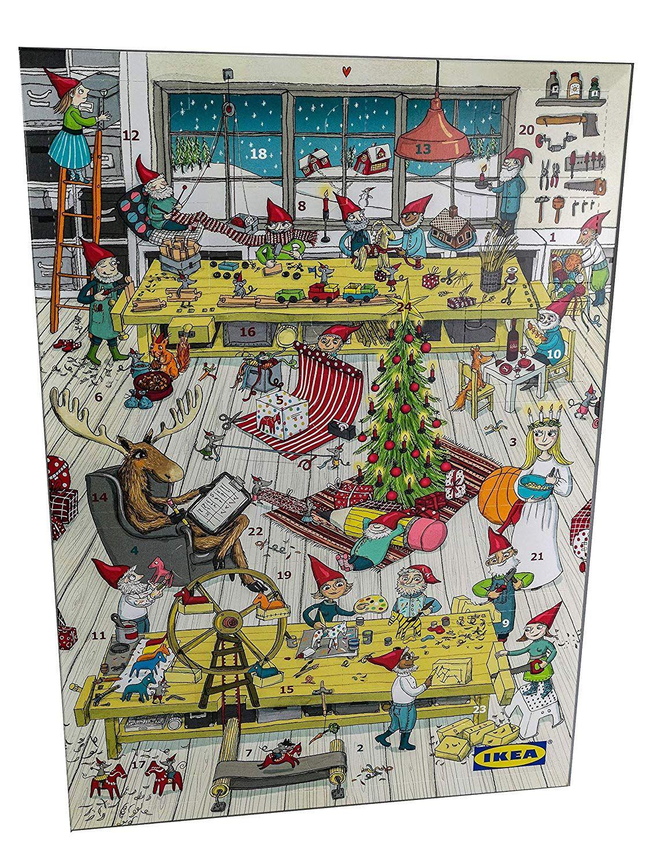 Krimi Weihnachtskalender.Ikea Adventskalender Mit 2 Aktionskarten Wert Mindestens 10 Euro