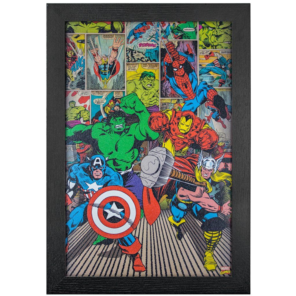 Licensed Marvel Comics Avengers Comic Book Wall Art Avengers