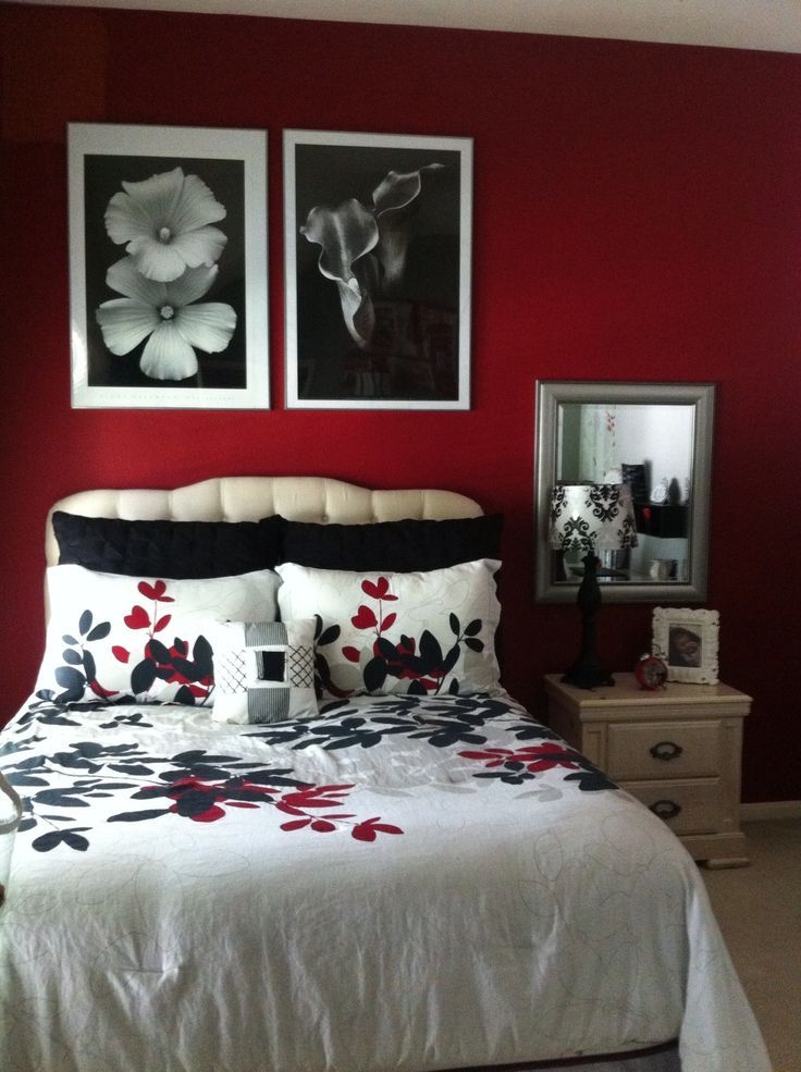 Red Black And White Bedroom Black And White Bedroom Wall Decor Black And White Bedroom Wallpaper Red Bedroom Decor Black Bedroom Decor White Bedroom Decor