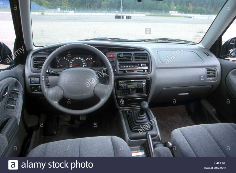 Download This Stock Image Car Suzuki Grand Vitara Xl7 V6 Cross Country Vehicle Model Year 1999 Green Interior View Inter In 2020 Grand Vitara Suzuki Car Photos