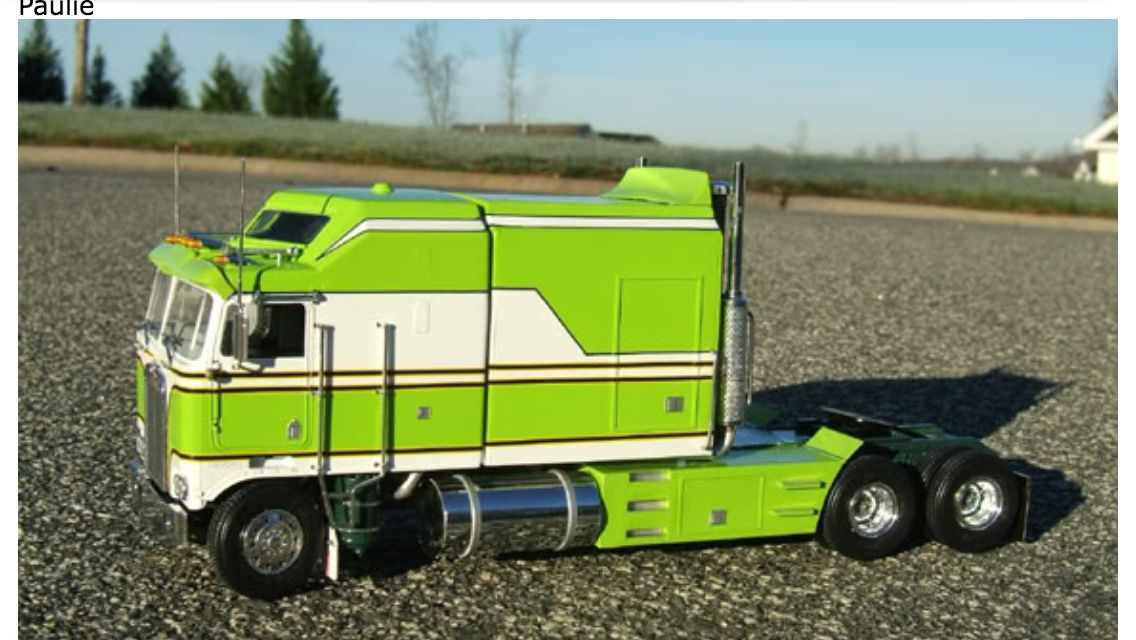 Truck Models Where Can I Find This Model What Is The Scale On Kw K100 Arodyne Cabover Large Sleeper 144 Like To See A 1 24 Or 25 Kits