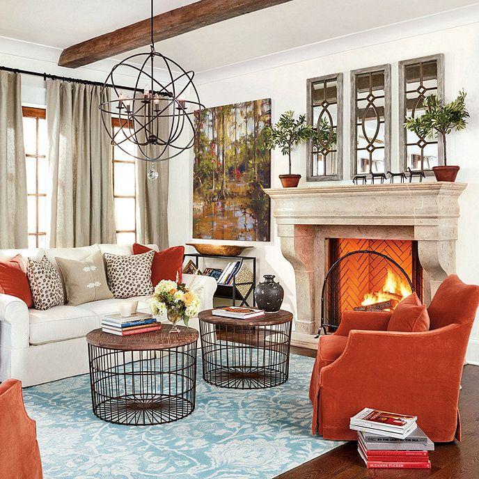 Living Room Orange, Living Room