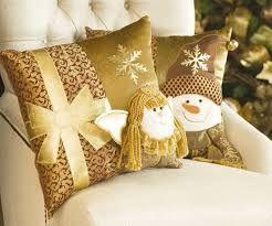 Resultado de imagen para cojines navideños elegantes | Cojines navideños, Cojines de navidad, Cojines