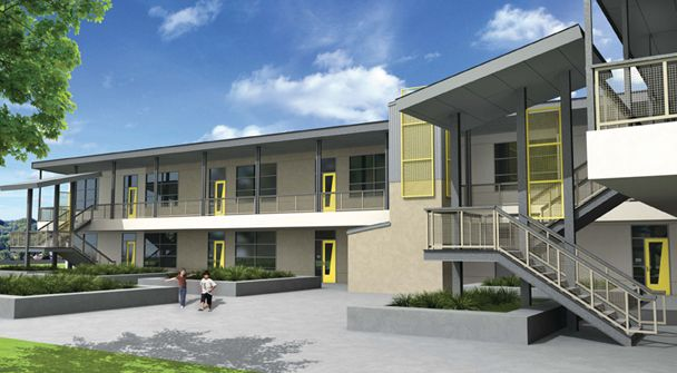 Gen7 Two-Story - modular buildings california, prefab