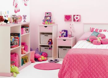 Decorando la Habitación de una Niña | Girl rooms( little ...