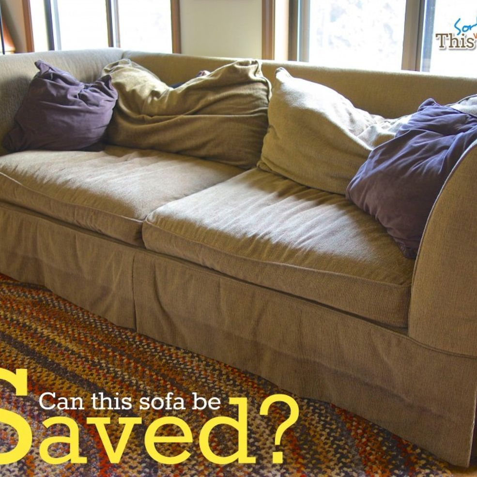 Easy DIY Save For A Tired Old Sofa I Must Do This To My 3 Seater Sofa!!!