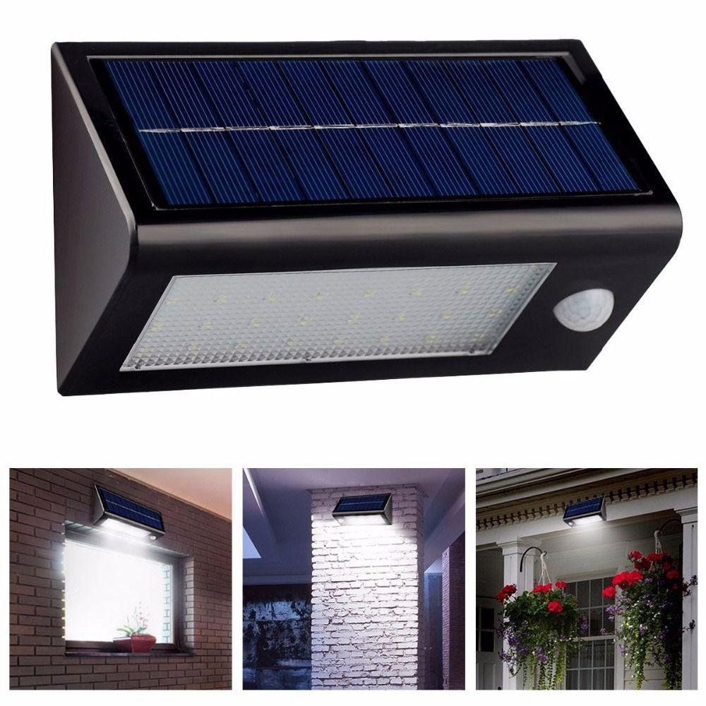 leds motion sensor solar light ultra bright led solar lamp wall