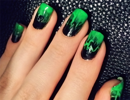 Witch Nails Poison Nails Nails Green Nail Designs Matte Black Nails