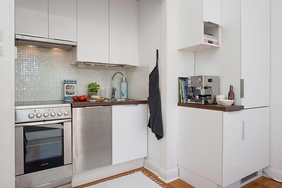 Y un poco de dise o 10 cocinas muy muy peque as - Cocinas muy pequenas ...