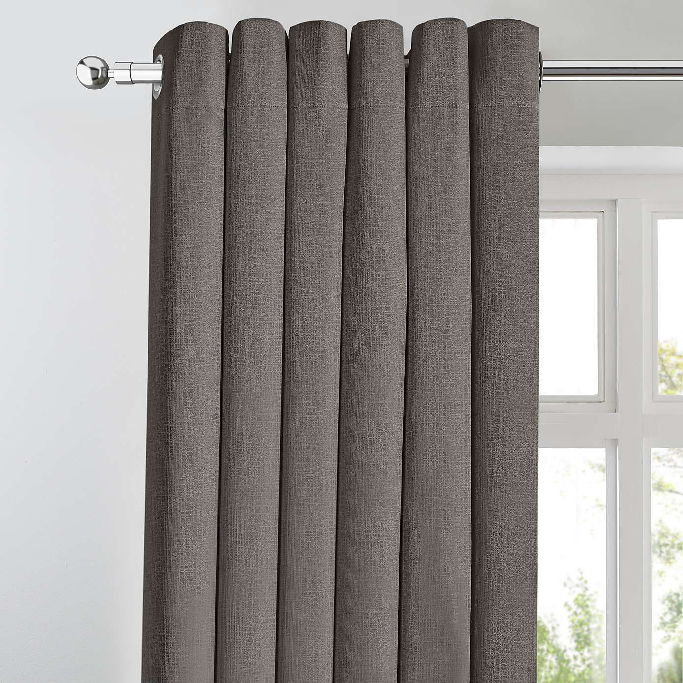 Georgia Charcoal Thermal Blackout Eyelet Curtains Dunelm Curtains Blackout Eyelet Curtains Blackout Curtains Bedroom