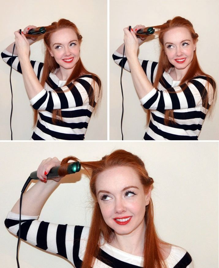 Curled Hairstyles, Hair Curling Tutorial