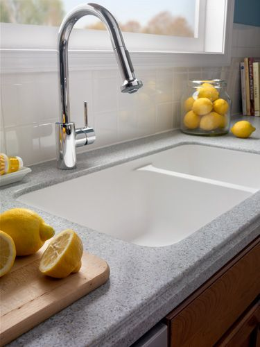 Hi Mac Counter In Ripe Cotton Countertops Kitchen Inspirations