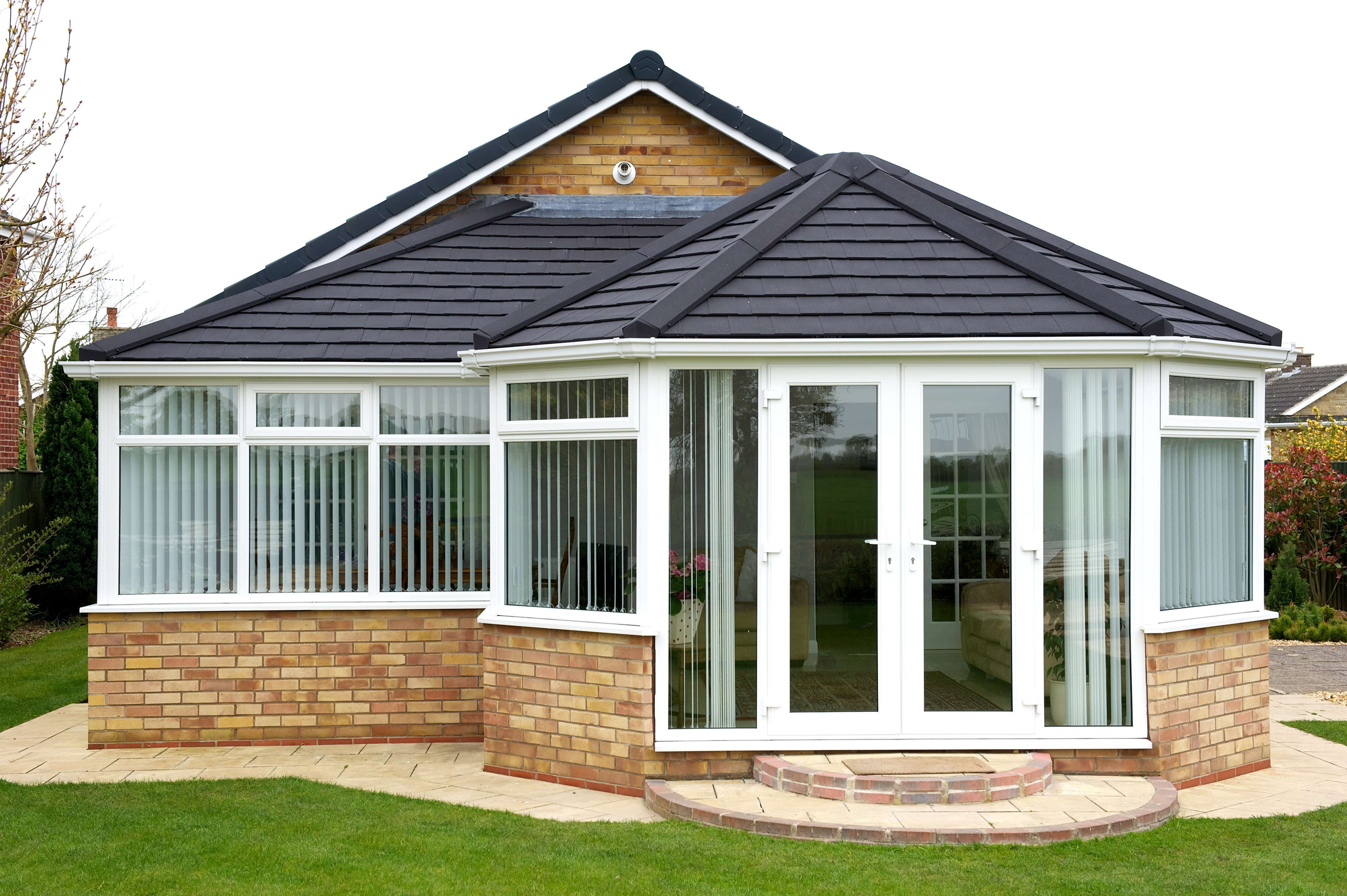 Conservatory with Tiled Roof Get more conservatory ideas ...