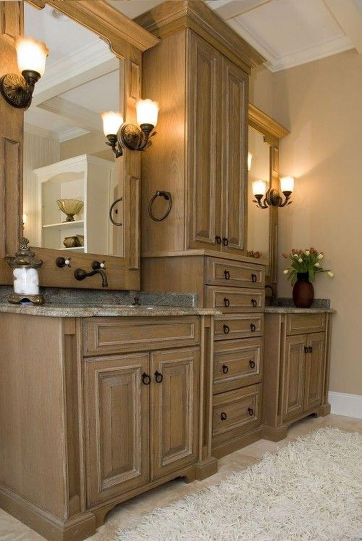 Perfect Bathroom Cabinet Remodel Ideas35   Mediterranean ...