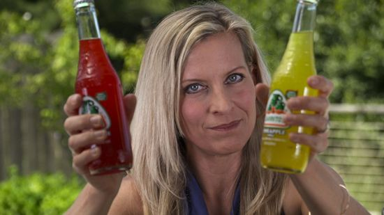 """Fastest Way to Chill a hot canned or bottled  Drink  ~ video ~ chilling in the fridge takes 45""""-2 hours, an ice bath with salt added decreases the temperature of the iced water.  A can of soda starting at 78 degrees chills drinks to 44 degrees in only 8 minutes when using salted iced water-- good to know! 