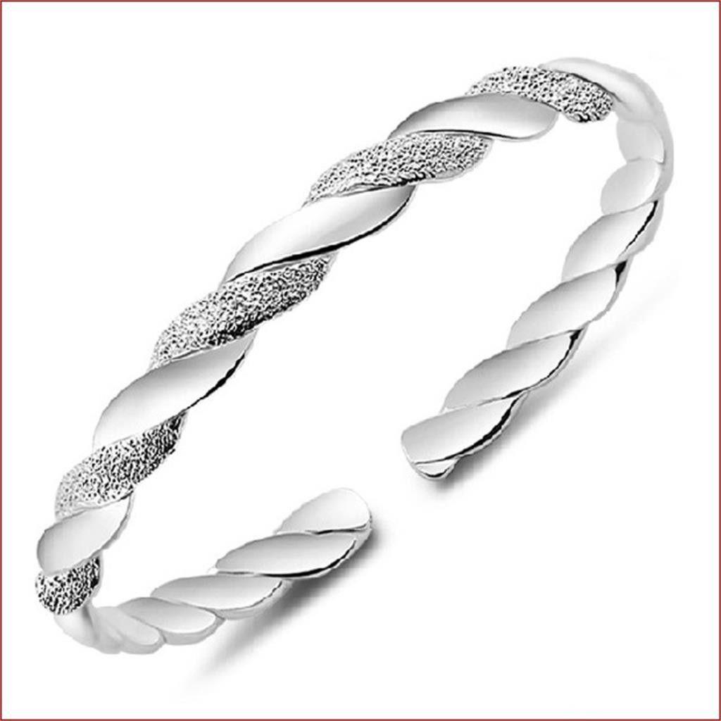 Newest bangles bracelet women fashion vintage silver plated bangles
