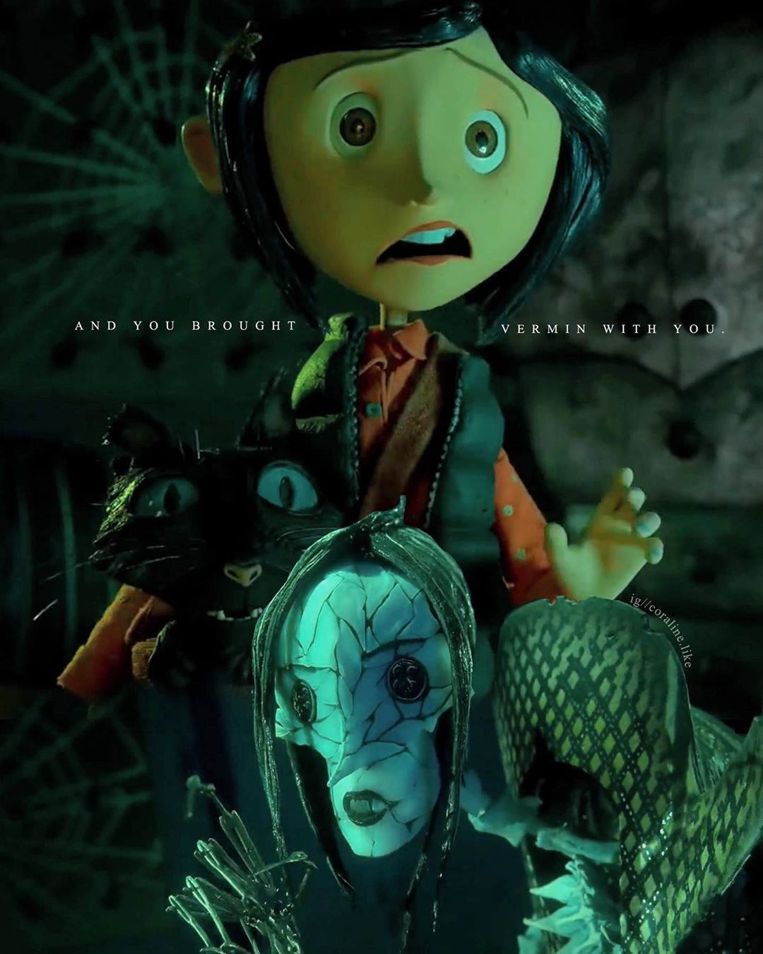 Matthew On Instagram 𝐃𝐎 𝐍𝐎𝐓 𝐑𝐄𝐏𝐎𝐒𝐓 Continue The Dialogue Tags Ignore Coraline Coralineeomundo In 2020 Coraline Aesthetic Coraline Coraline Jones