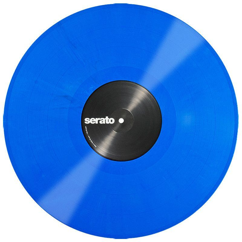 Serato Performance Series Control Vinyl 2lp Blue Vinyl Vinyl Records Blue
