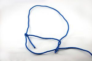 How To Make An Adjustable Rope Halter Rope Halter Goats Cattle