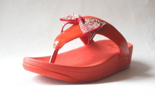 b53ffe5c6 Fitflop Butterfly Flower Sandals Red