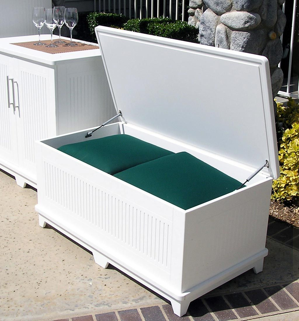 Simple Oudoor Storage With Soldura Sustainable Outdoor Furniture Cabanas Chaise Lounges And Waterproof Design Storage Bench 10 Designs In Patio Storage Bench Patio Storage Outdoor Storage