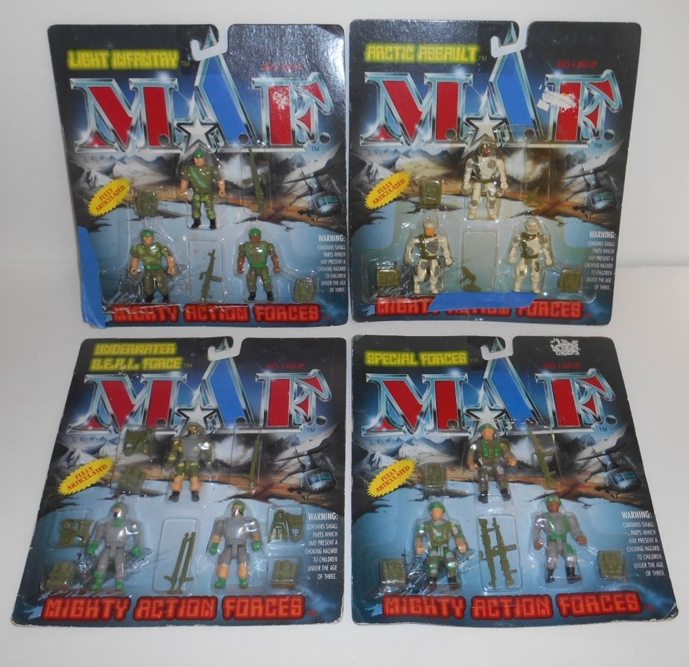 Mighty action force action figures