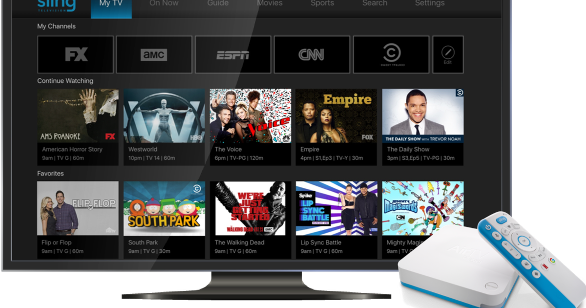 Sling TV's settop box will unite streaming and broadcast