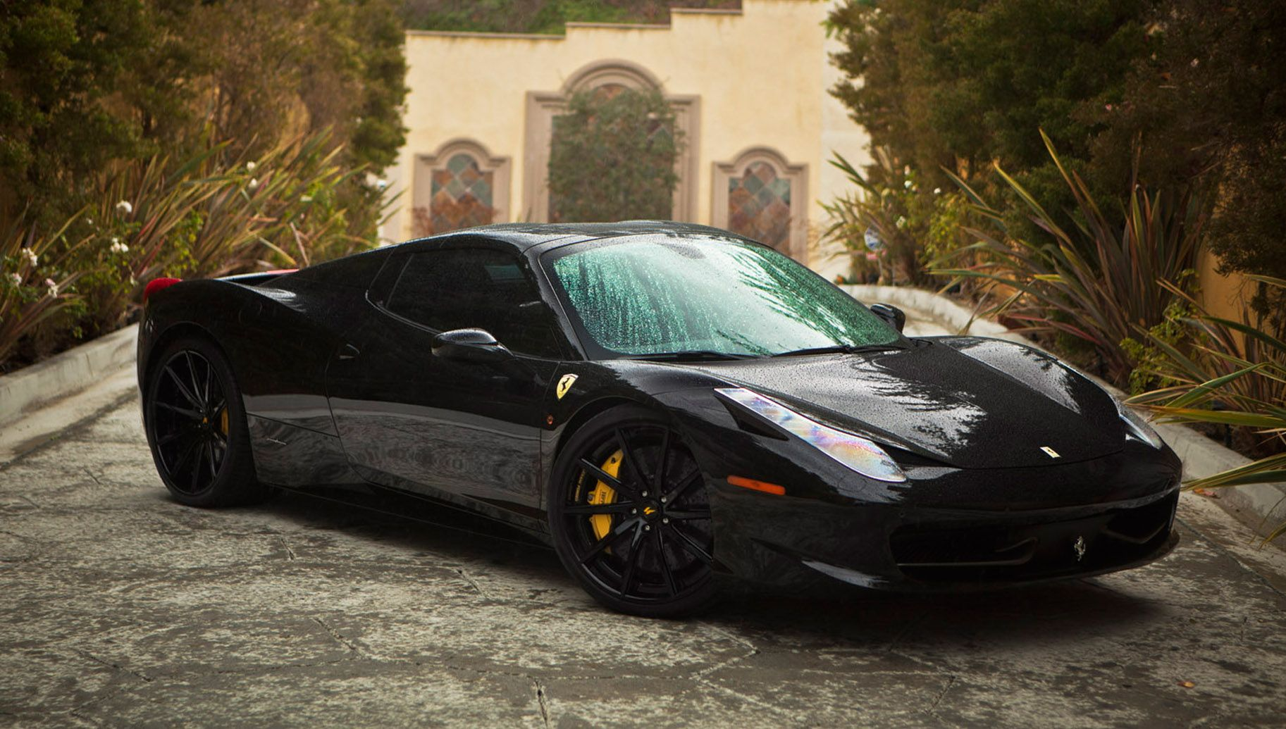 Ferrari 458 Spider On Custom Lexani Forged Wheels With Images