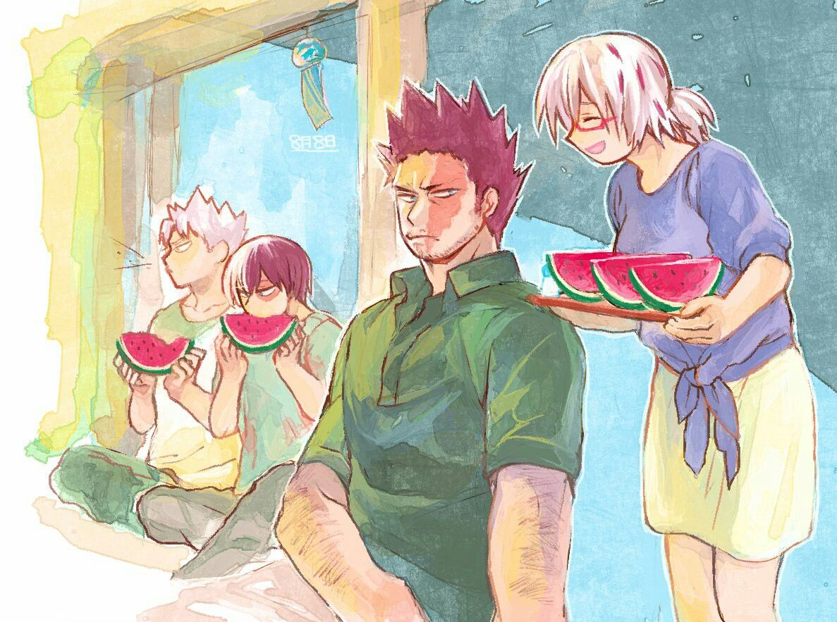 Todoroki Family My Hero Academia With Images My Hero