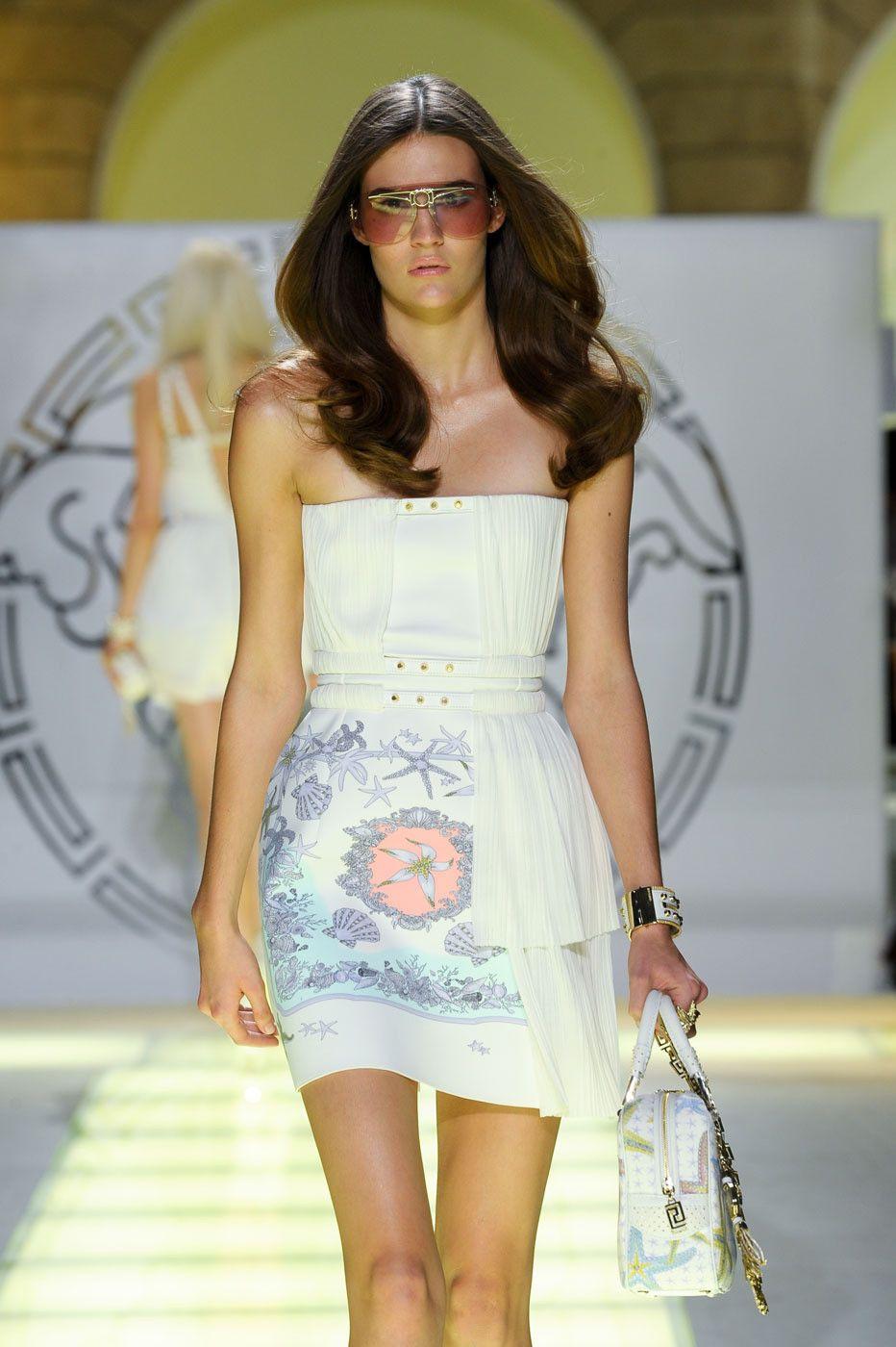 Versace at Milan Spring 2012
