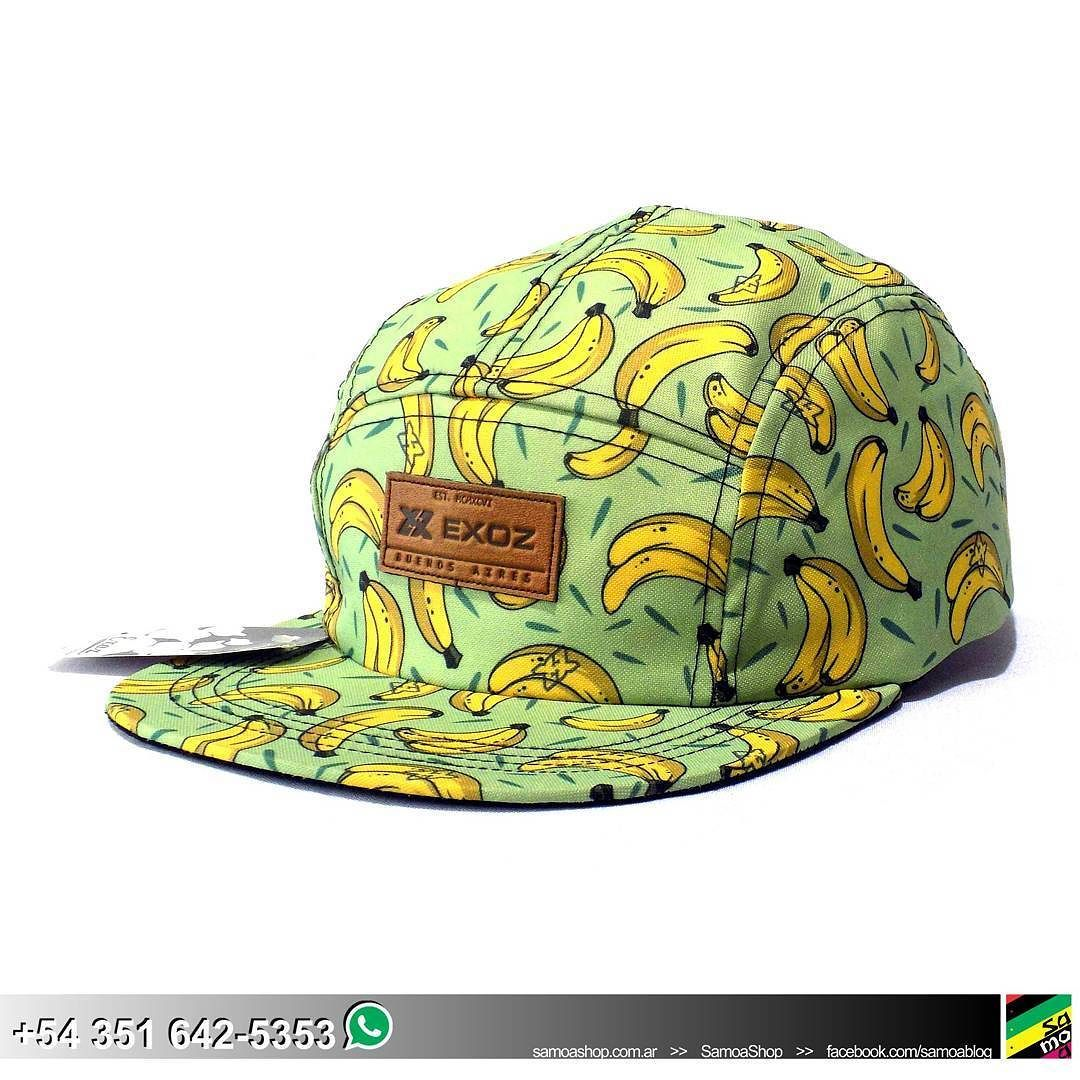 Gorra #5panels #Bananas . . . . #FullPrint #FlatPeak #SnapBack #hat ...