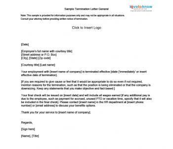 Write Termination Letter Cleaning Company Cover Templates Free