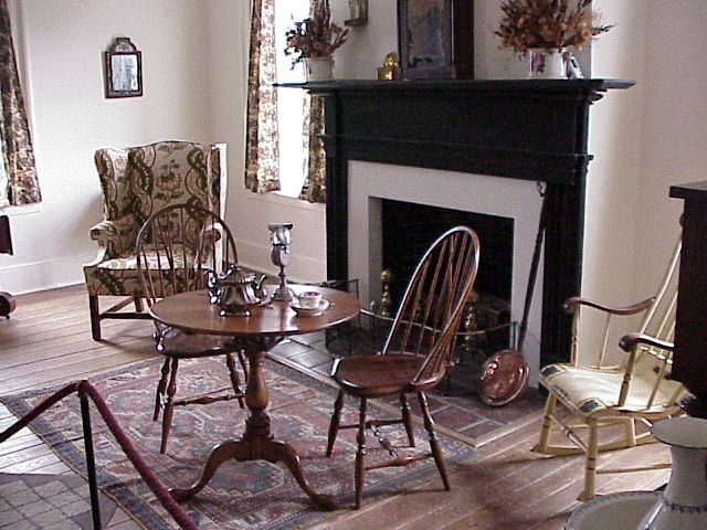 This Is The Interior Of Bissell House 10255 Bellefontaine Road St Louis Mo 63137 Tours Of The Bissell House Are By Appoint Bellefontaine House Home Decor