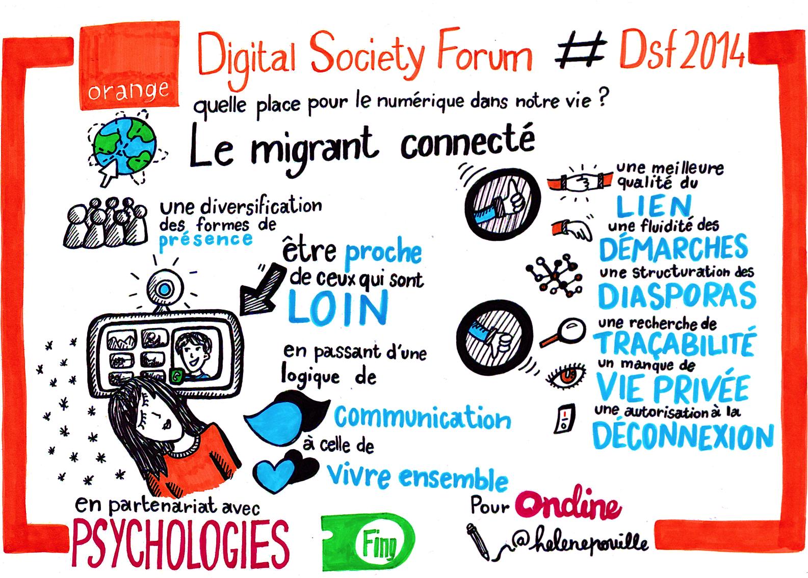 Digital Society Forum - Le migrant connecté