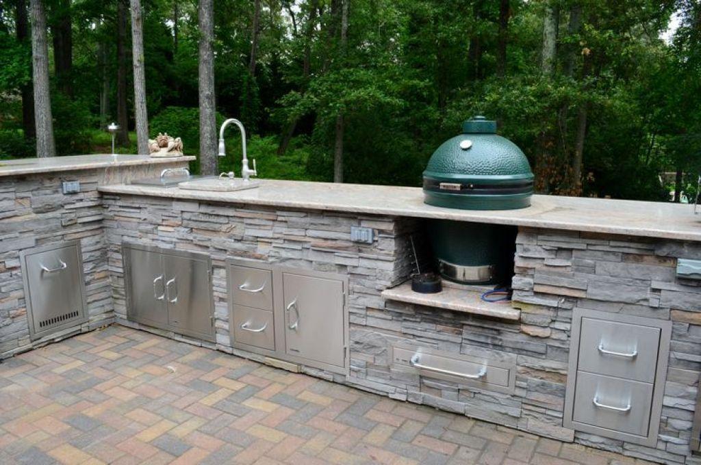 Outdoor Kitchen White Plains Md Cultured Stone Veneer