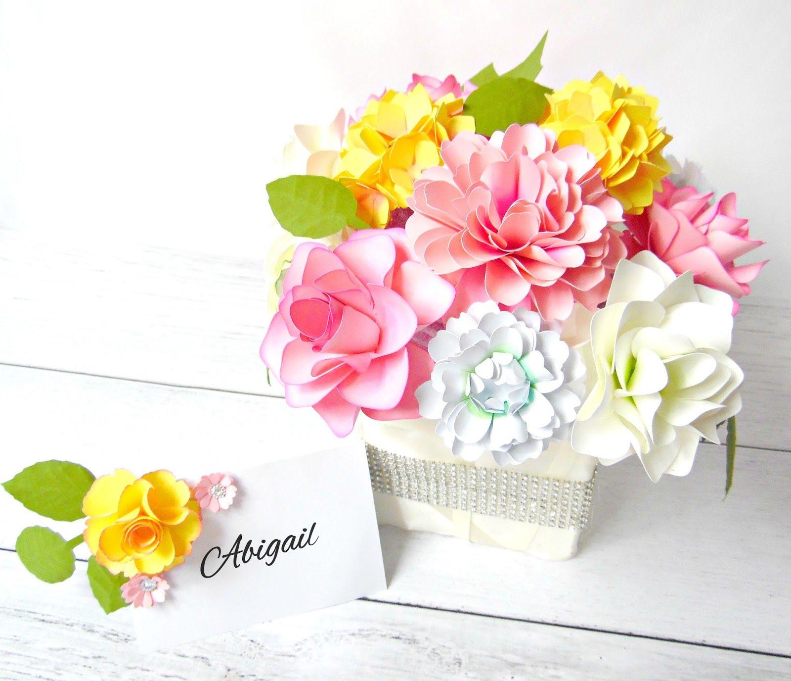 Diy Paper Floral Centerpiece Wedding Centerpieces Centerpieces