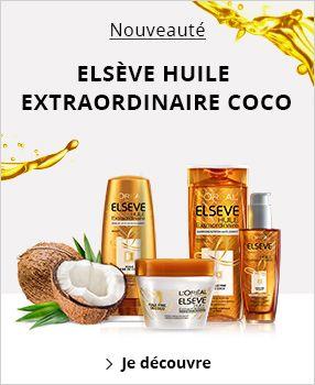 elseve huile extraordinaire coco masque usage universel huile extraordinaire masque cheveux. Black Bedroom Furniture Sets. Home Design Ideas
