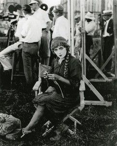 Mary Pickford; On the set of Sparrows