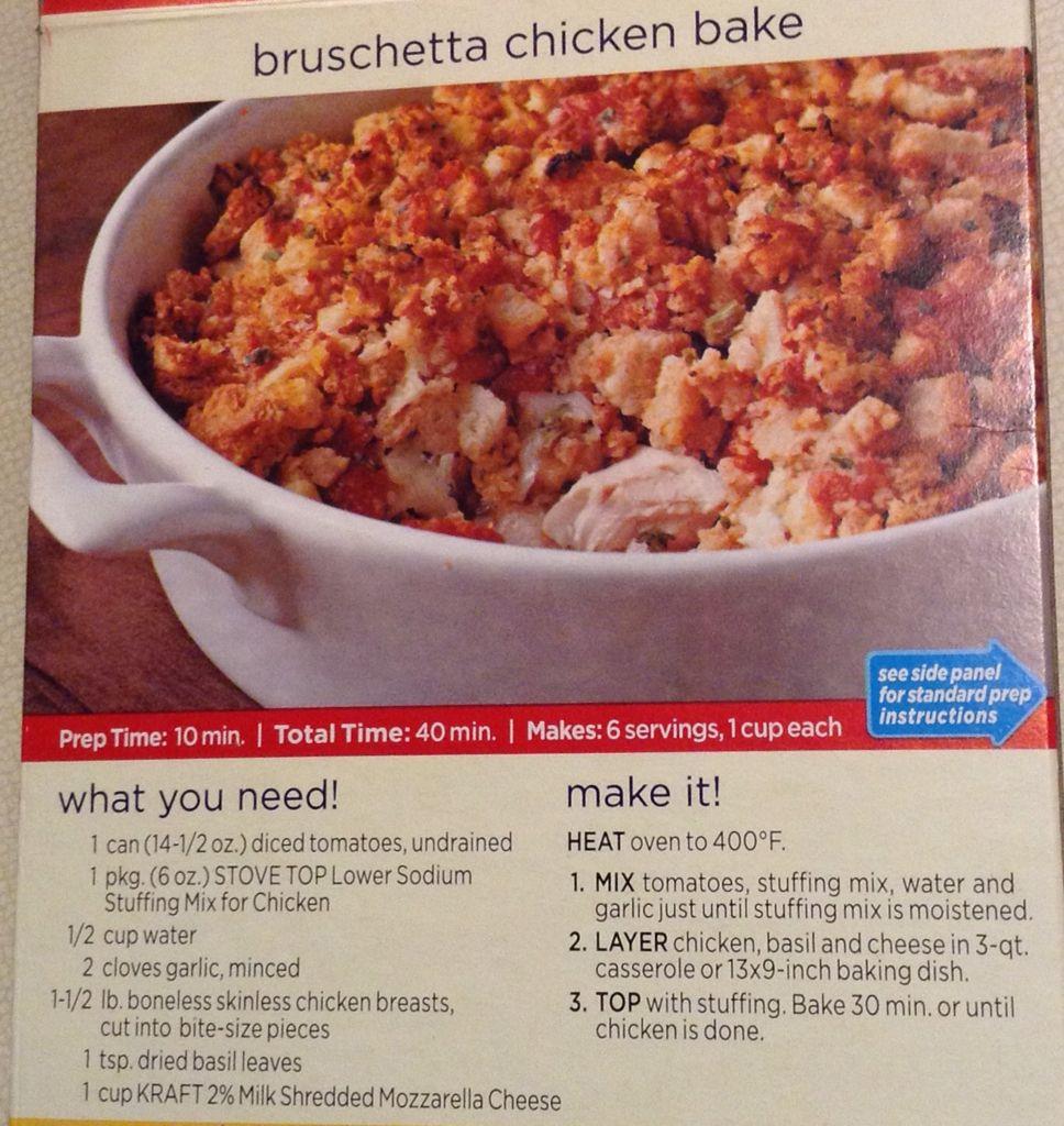... Chicken Bake | Dinners | Pinterest | Stove, Bruschetta chicken bake
