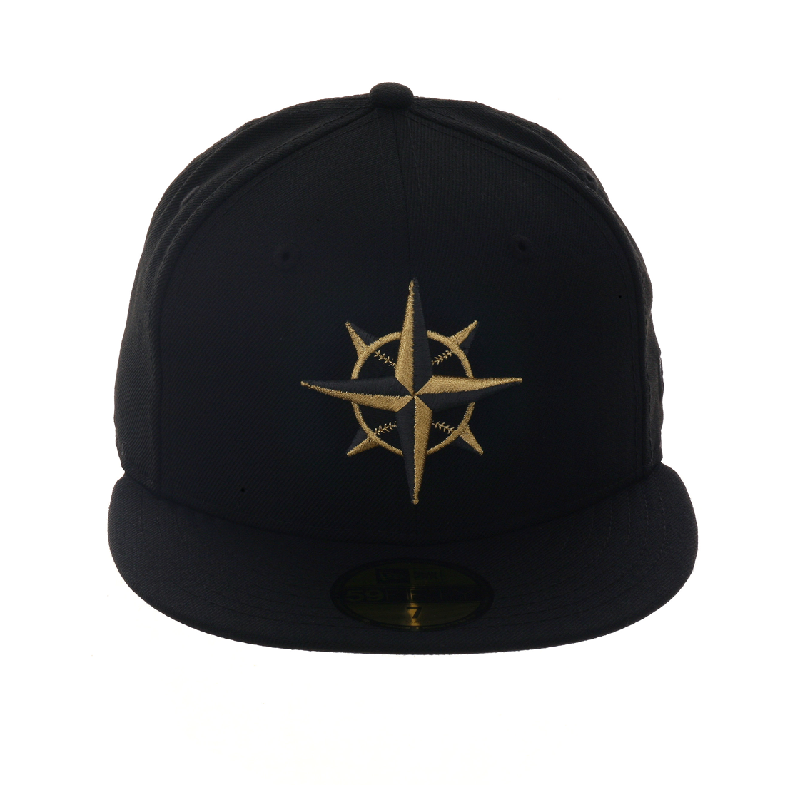 uk availability ecc5a f2e09 Exclusive New Era 59Fifty Seattle Mariners Hat - Black, Black, Metallic  Gold,   40.00