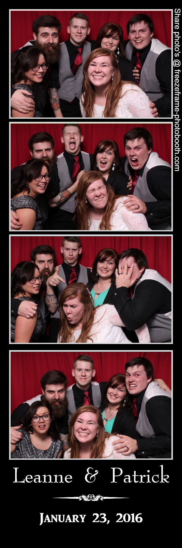Freeze Frame Photo Booth was sooo much fun! It accommodates large ...
