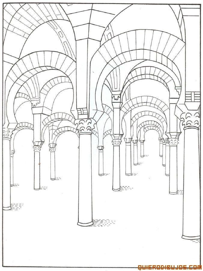 Una mezquita | monumentos españoles | Pinterest | Dia de andalucia ...