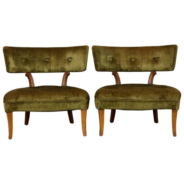 Fantastic Pin By Farrer Coston On 1Stdibs Fan Faves Slipper Chairs Theyellowbook Wood Chair Design Ideas Theyellowbookinfo