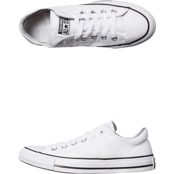 c27add771880 Converse Chuck Taylor All Star Madison Ox Shoe White ( 79) ❤ liked on Polyvore  featuring shoes