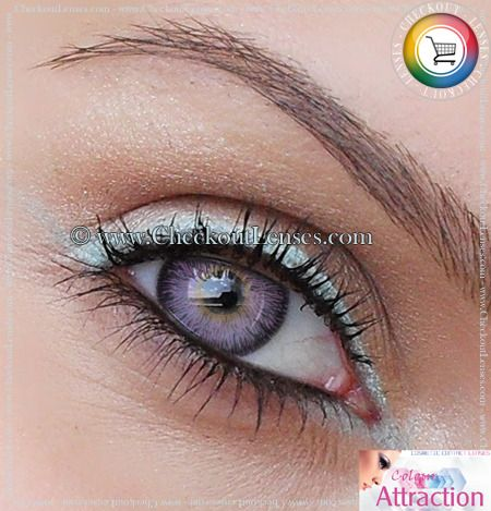 efb8c84913 Light Amethyst Color Attraction Contact Lenses - Checkout Lenses ...