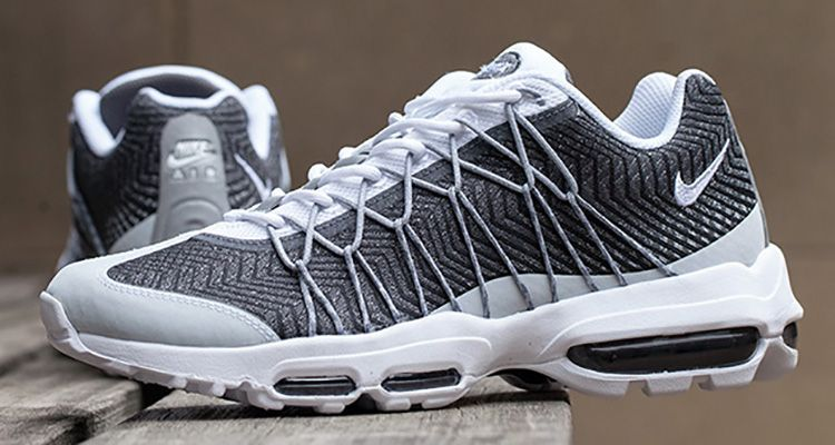 5ed56f0db88 This Nike Air Max 95 Ultra Jacquard Takes Flywire Up a Notch