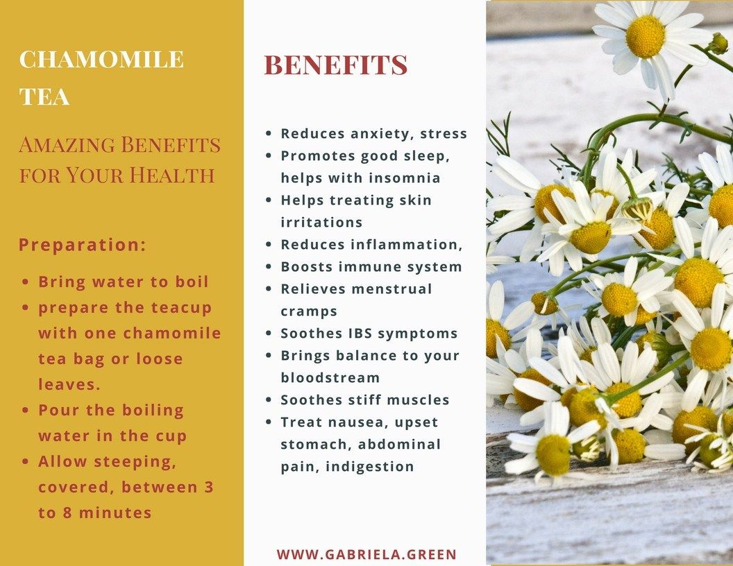 Chamomile Tea Amazing Benefits For Your Health Gabriela Green Chamomile Tea Benefits Chamomile Tea Tea For Colds